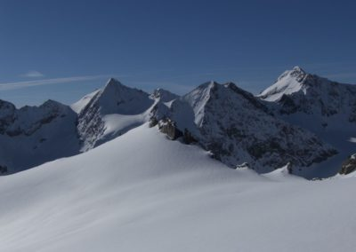 Am Wilden Hinterbergl mit Ruderhofspitze und Co