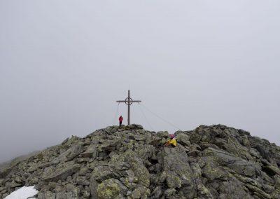 Den Gipfel für uns alleine