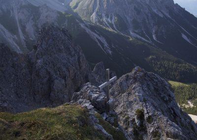 Das verborgene Gipfelkreuz