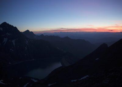 NAch Sonnenuntergang muss man noch zuwarten...