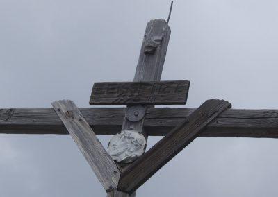 Gipfelkreuz Zeisspitze