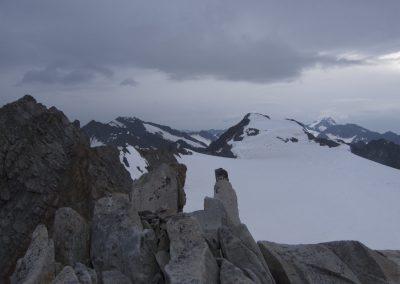 Auf der Dahmannspitze mit Blick zum Fluchtkogel