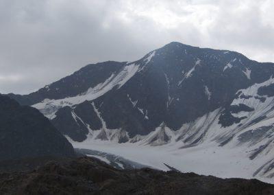 Blick zur Fluchtkogel Nordwand