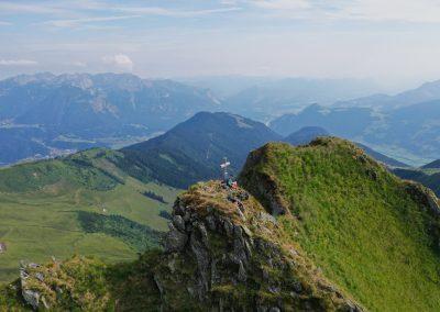Gipfel Metzenjoch