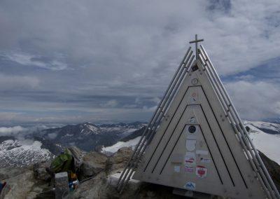 Bis zum Gipfel der Dreiherrnspitze 3499m