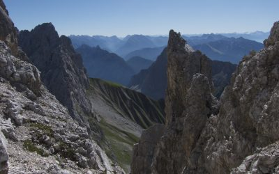 Oberreintalschrofen- Wettersteingebirge
