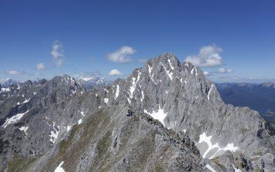 Überschreitung der Raffelspitze- Karwendel