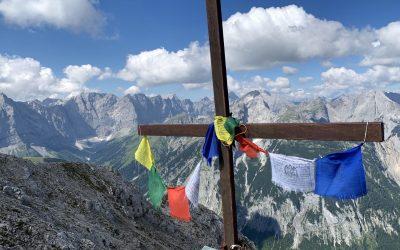 Vom Schneekopf bis zur Schaufelspitze- ein wunderschöner Grat im Karwendel