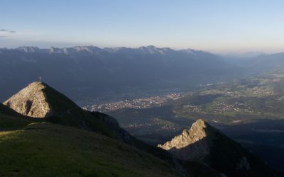Aus der Lizum auf die Soale- Stubaier Alpen