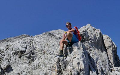 Aus der Eng auf die Eiskarl- und Spritzkarspitze- Karwendelgebirge