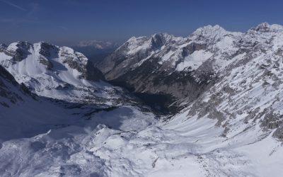 Über das Kreuzjöchl auf die Thaurer Jochspitze- Karwendel