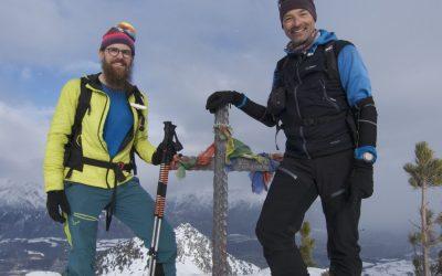Von Kolsassberg auf das Poverer Jöchl- Tuxer Alpen